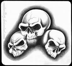3 Skull Designs Three Skulls By Cantwell615 On Deviantart