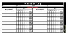 Workout Training Log Template Best Free Printable Workout Logs Silicone Wedding Band