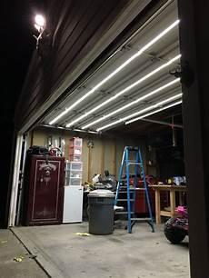 Garage Door Led Lights Double Track Garage Door Lighting System Garage Door
