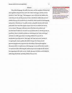 Apa Format 6th Edition Sample Paper Apa Abstract Template Playbestonlinegames