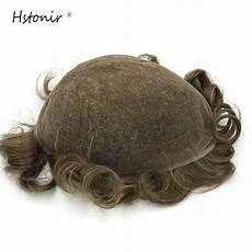 Hair System Light Density Hstonir Full Lace Vip Toupee Men Hair Light Density