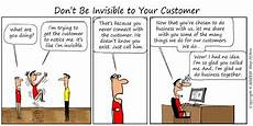 What Customer Service Experience Do You Have Invisible Customer Service The Customer Must Be Reminded