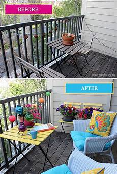 how to decorate your small patio before and after patio