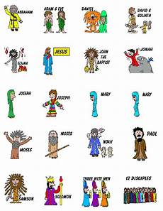 Printable Bible People Church House Collection Blog Printable Sunday School Stickers
