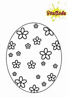 Ostereier Ausmalbilder Kostenlos Zum Ausdrucken Ausmalbild Osterei Blumen Kostenlos Ausmalbilder