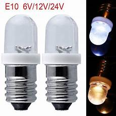 Small Dc Light Bulbs Akdsteel E10 Light Bulbs Dc 6 12 24v Led Screw Base
