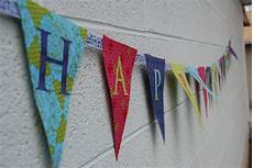 Create A Birthday Banner How To Make A Fabric Happy Birthday Banner Using A Cricut