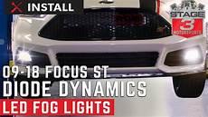 2014 Focus St Lights 2009 2018 Ford Focus St Diode Dynamics Led Fog Lights