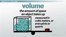 Matter Mass Amp Volume Video Amp Lesson Transcript Study Com