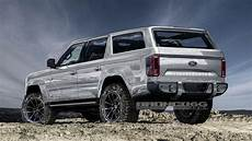 2020 Ford Bronco Usa by 2020 Ford Bronco Will Four Doors And 325 Hp