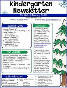 News Letter Templates For Teachers 11 Kindergarten Newsletter Templates Free Samples