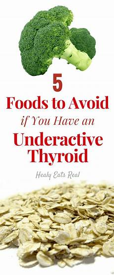 5 foods to avoid for a hypothyroid diet hypothyroidism
