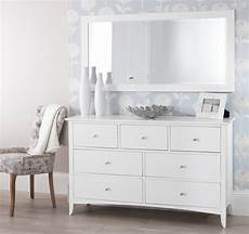 edward hopper white 7 drawer chest bedroom furniture direct