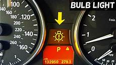 Bmw Suspension Warning Light Bmw Bulb Warning Light E90 E91 E92 How To Know Which Bulb