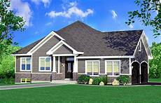 Home Design Story One Story Traditional House Plan 90288pd Architectural