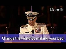 change the world by your bed admiral william h