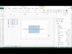 How To Create A Boxplot In Excel Quick Boxplot In Excel 2013 Youtube