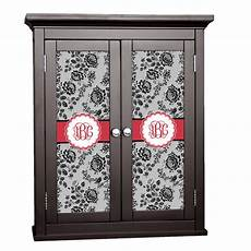 black lace cabinet decal small personalized