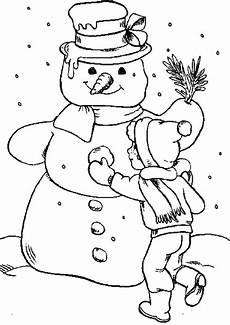 Ausmalbild Schneemann Bauen 20 Ausmalbilder Zu Weihnachten Erfreuen Sie Ihre Kinder