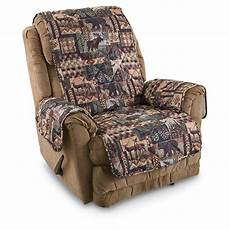 Cover Reclining Sofa 3d Image by Lodge Sofa And Chair Slipcover Set 614468 Furniture