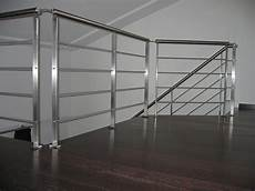 ringhiera acciaio inox parapetti per scala e soppalco in acciaio inox satinato