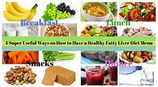 4 useful ways on how to a healthy fatty liver