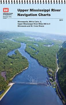 Army Corps Of Engineers River Charts Upper Mississippi River Navigation Charts Minneapolis