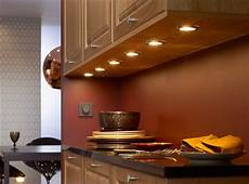 installing hardwire cabinet lighting the wooden