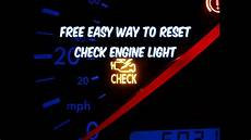 Why Does My Check Engine Light Turn On And Off How To Reset Check Engine Light Free Easy Way Revised
