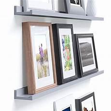 Light Grey Floating Shelves Wallniture Denver Modern Design Floating Picture Display