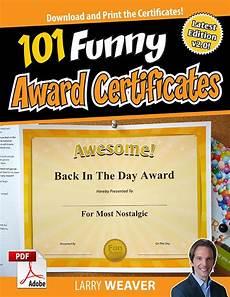 Funny Employee Award Certificates Funny Award Certificates Pta Pinterest Certificate