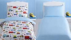 bright trucks baby boy toddler junior cot bed duvet