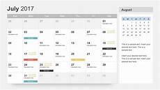 Calendar Slides Free Calendar 2017 Template