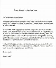 Board Resignation Free 26 Formal Resignation Letter Samples In Pdf Ms Word