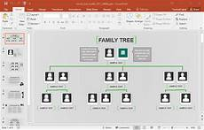 Create Family Tree Free Animated Family Tree Presentation Template For Powerpoint
