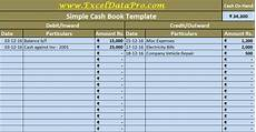 Daily Sales Record Book Download Cash Book Excel Template Exceldatapro