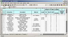 Bom List Format In Pdf Excel Jpg Format Download Bom Bill Of Material