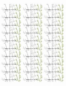 Avery 30 Per Page Labels Return Address Labels Bamboo 30 Per Page Works With