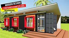 shipping container homes plans and modular prefab design