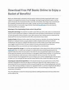 Essays Online To Read Download Free Pdf Books Online To Enjoy A Basket Of Benefits