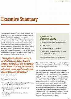 Exsecutive Summary Executive Summary Snohomish Conservation District