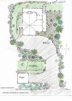 englischer garten plan maine garden gardens landscaping