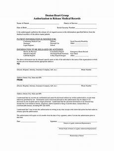 Generic Release Of Medical Information Form Medical Release Form Fill Out And Sign Printable Pdf