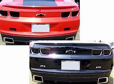 2010 Camaro Lights 2010 2013 Camaro Light Blackout Kit 2011 2012