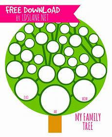 Printable Family Tree For Kids Printable My Family Tree