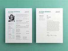 Cv Psd Template Free Free Clean Cv Template With Cover Letter In Illustrator Ai
