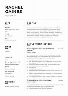 New Rn Resume Samples Registered Nurse Resume Sample Amp Writing Guide 12