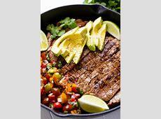 Mexican Skillet Steak
