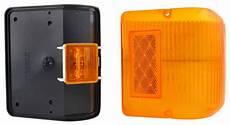 Black Clearance Lights Bargman Led Wraparound Clearance Side Marker Light 86