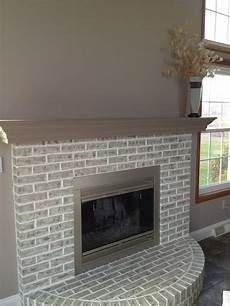 How To Paint A Light Color Over A Dark Color Completed Fireplace Painted Over Red Brick Restoration
